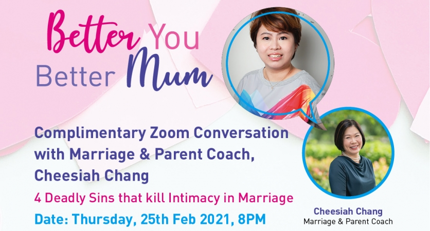 Better You Better Mum: With Marriage and Parent Coach with Cheesiah Chang